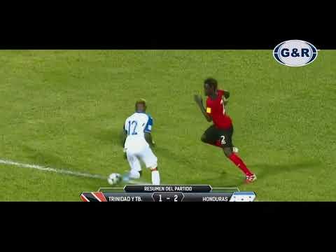 Trinidad y Tobago 1 vs 2 Honduras   RUMBO A RUSIA 2018