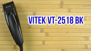 машинка для стрижки волос Vitek VT-2518 обзор