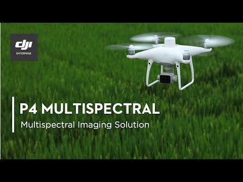 P4 Multispectral - Multispectral Imaging Drone Solution