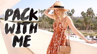 WHAT I PACKED ON VACATION 🌴| Styling Outfits, Makeup/ Skincare