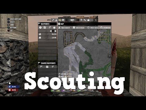 7 Days to Die   PS4   Scouting   S2 EP20