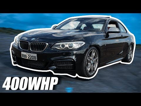 Seis em linha Turbo e 400whp - Review BMW M235i
