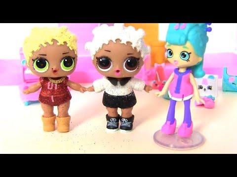 Танцевальный батл #Куклы Лол Сюрприз и Шопкинс! Мультик ...