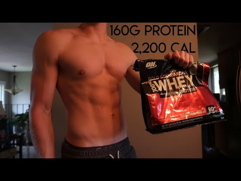My Diet For Staying Shredded & Gaining Muscle