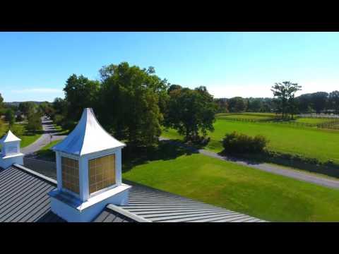 Linden Hall Aerial