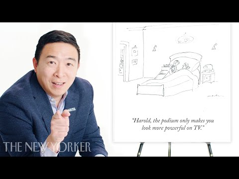 Andrew Yang Enters The New Yorker's Cartoon Caption Contest | The New Yorker