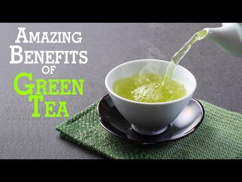 Amazing Benefits of Green Tea - Good Health Tips | Health & Fat Burning Benefits
