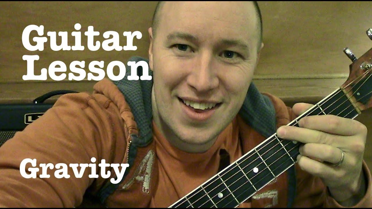 Gravity Guitar Lesson The X Factor Alex Sierra Standard
