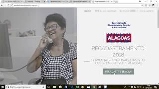 Recadastramento 2018 - Tutorial