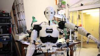 Worlds first humanoid Open Source 3D printed robot InMoov