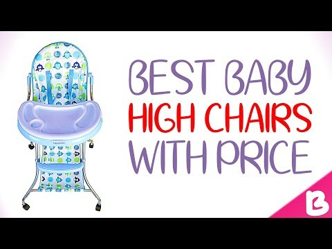 8 Best Baby High Chairs in India with Price