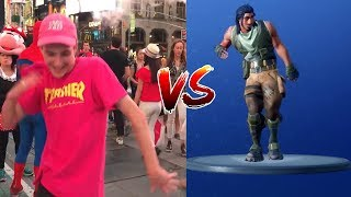 Fortnite Season 5 Dance Emotes In Real Life