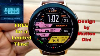 *FREEBIE ALERT!* Samsung Galaxy Watch/Watch Active 2 Watch Face by Matteo Dini - Jibber Jab Reviews!