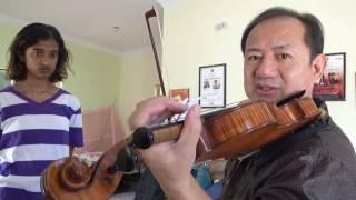 Violin Lesson in India 2 by Daniel Olsen