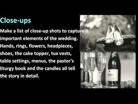 Creative Wedding Photo Checklist