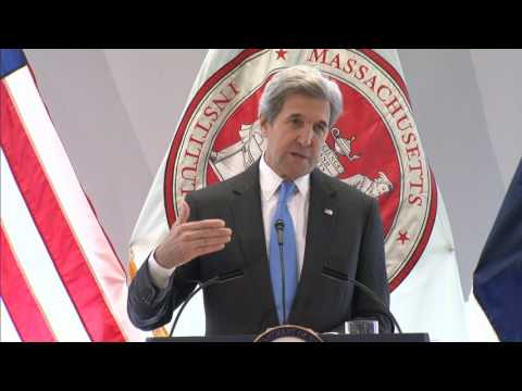 US Secretary of State John Kerry at MIT - January 9, 2017