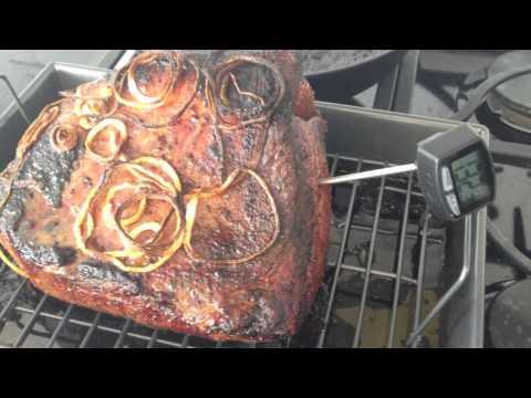 How to cook a kosher bottom round rump roast, roast beef.