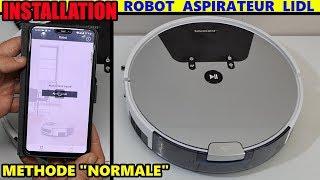 Aspirateur robot LIDL SILVERCREST SSRA1 installation Robot Vacuum Cleaner Saugroboter