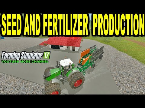 Farming Simulator 2017 Mods BDBSSB MODS  Seed And Fertilizer Production