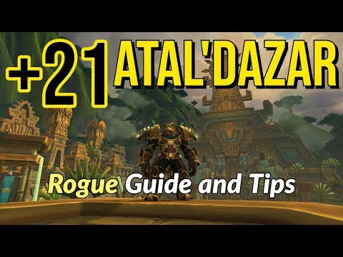 Atal'Dazar +21 Mythic Plus Guide (Assassination Rogue POV)