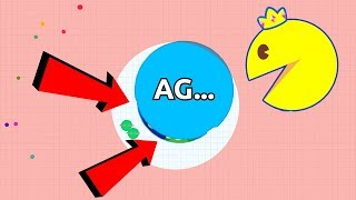 Agar.io Fortnite Battle Royale Mode vs Pacman .io Gameplay