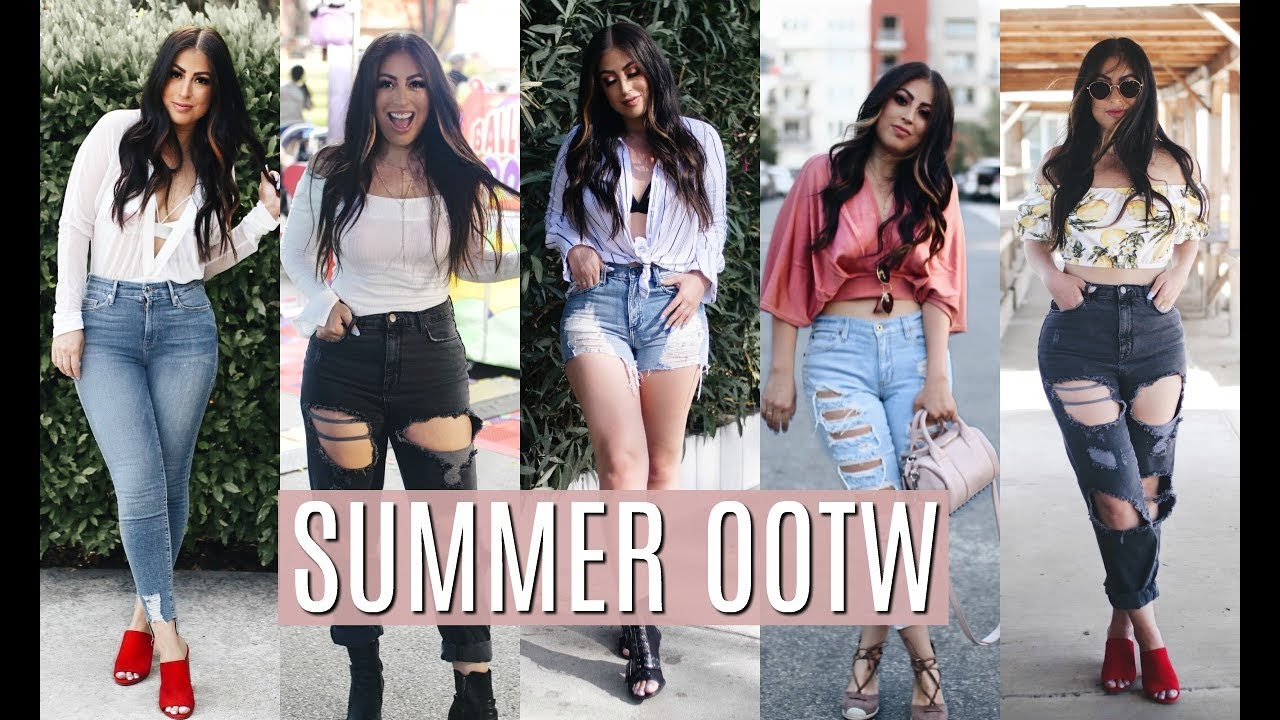 c93613710951 Summer Outfits of the Week  My Style - YouTube