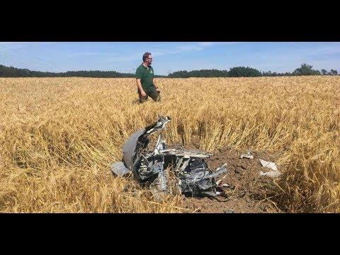 WELT THEMA: Jetzt ermittelt die Bundeswehr beim Eurofighter-Crash