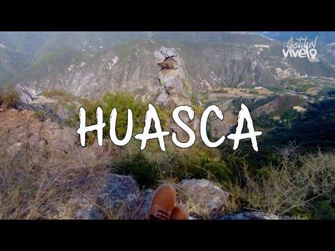 HUASCA y su Peña del Aire 4k✌  Pueblo Mágico