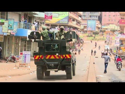 Unrest on Kampala streets after political arrests