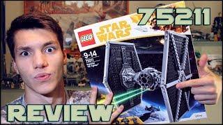 Lego Star Wars 75211 TIE Fighter Review | Обзор ЛЕГО Звёздные Войны СИД Истребитель