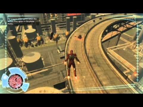 Iron Man Plays GTA IV