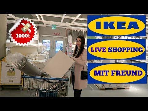IKEA LIVE HAUL Mit FREUND L 1000€ GUTSCHEIN AUSGEBEN