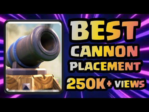 2.6 Hog Cycle Vs Golem - Where to place cannon against golem - Clash Royale Gameplay - how to play