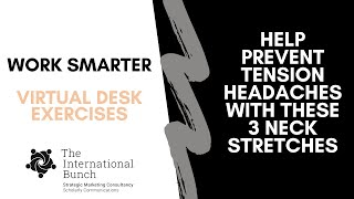 Help prevent tension headaches with these three neck stretches