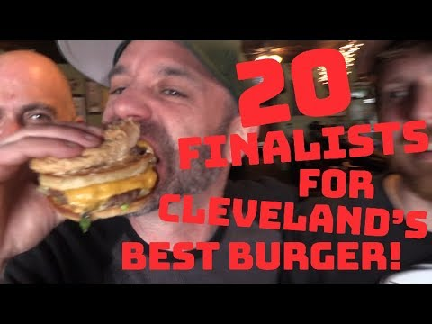 Comedian Mike Polk joins Cleveland's Best Burger contest; See our schedule of visits to all 20 finalists