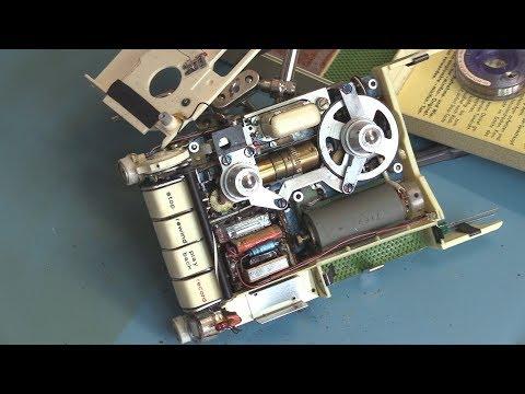 World's Smallest All-Tube Spy Recorder - The Minifon P-55
