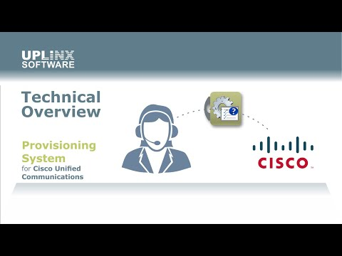 Provisioning System for Cisco Unified Communications