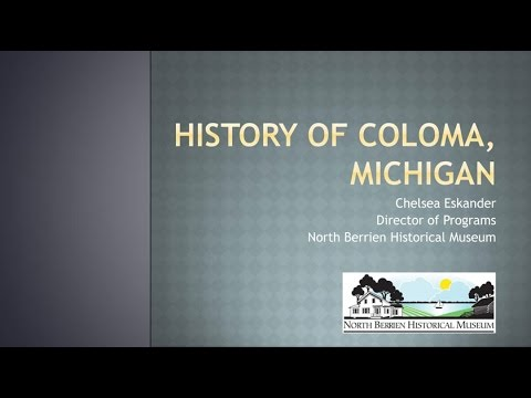 A History of Coloma, Michigan: From 'Shingle Diggins' to Today