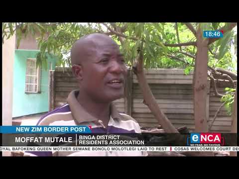 New Zim border post | Tonga people rejoice