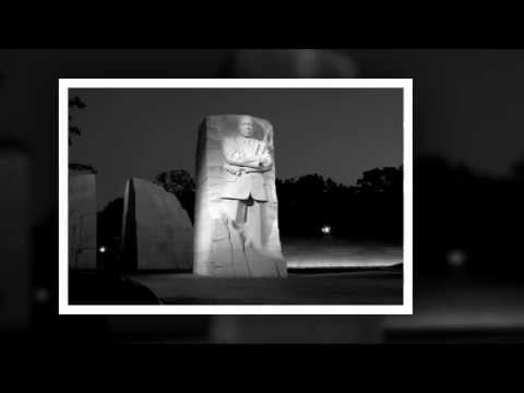 MLK Monument in the Early Light