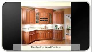 Blue Modern Wood Furniture