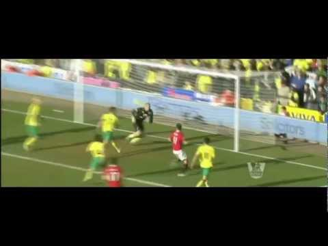 26.02.2012 - Norwich City vs. Manchester United 1 - 2 Final Score ( Hightlights )