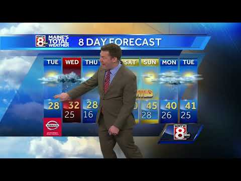 Tracking snow for tonight and Wednesday