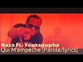 Naza ft youssoupha qui m empêche paroles lyrics avec son mp3