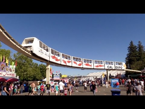 Classic Cal Expo Monorail Complete POV