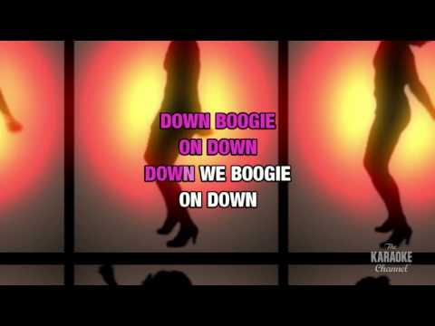 Let's Groove in the style of Earth, Wind & Fire | Karaoke with Lyrics