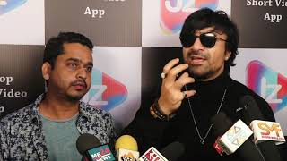 Ajaz Khan full support of bollywood industry , he said this during the shoot of upcoming JIPZOP app