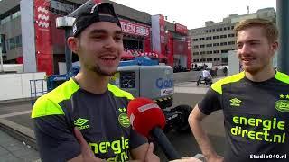 Eerste PSV-fans op Stadhuisplein voor huldiging