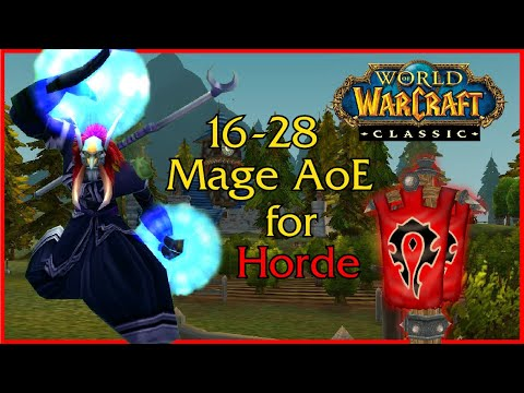 WoW Classic - Frost Mage AoE leveling for Horde - Part 1