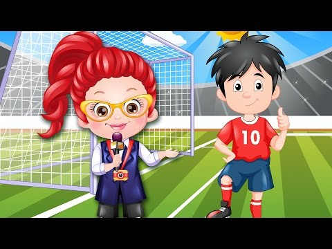 Dress up Games For Girls - Learn to Dress up Like a Journalist - Baby Hazel Games - 동영상